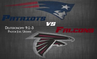 The Patriots vs The Falcons