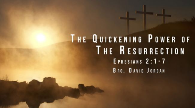 The Quickening Power of the Resurrection