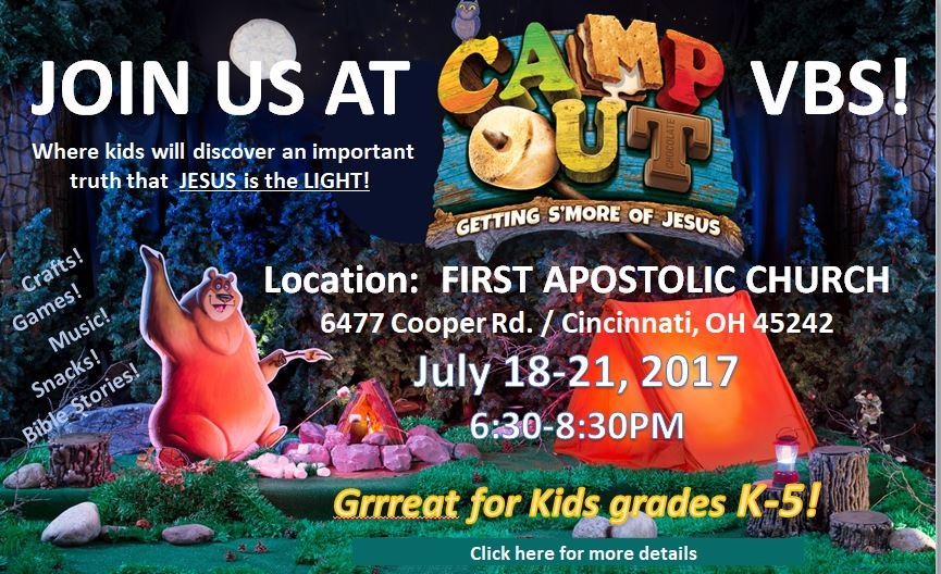 VBS - Vacation Bible School 2017