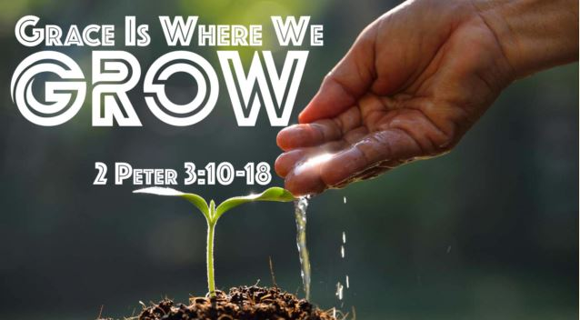 Grace is Where We Grow